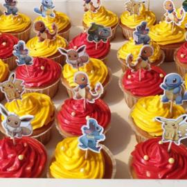 Cupcakeprikkers pokemon