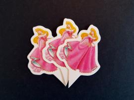 Cupcakeprikker   Prinses
