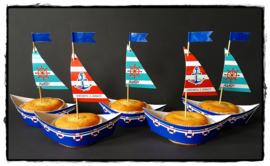 Cupcakewikkel | Zeilboot