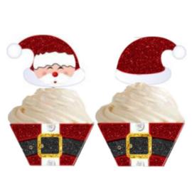 Cupcakewikkel | Kerstman