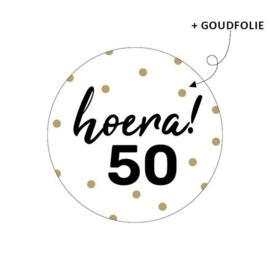Sticker | Hoera! 50