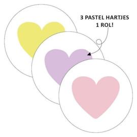 Sticker | Harten pastel