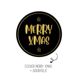 Sticker | Merry Xmas