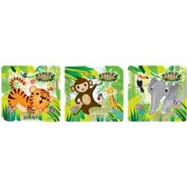 Puzzel | Jungle 3 assorti