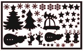 DIY stickers | Kerst 2 XL