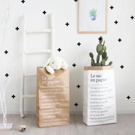 Papieren opbergzak | Alfabet