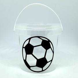Traktatie emmertje | Voetbal