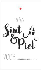 Kadokaartje | Van Sint en Piet