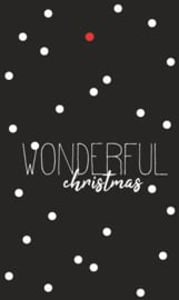 Kadolabel | Wonderful christmas