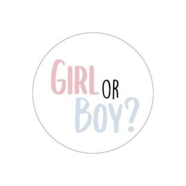 Sticker Girl or boy?