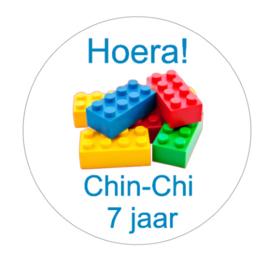 Sticker | Lego blokjes