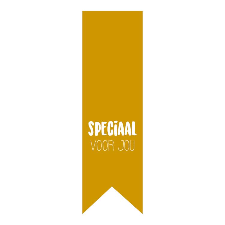 Sticker vaantje | Speciaal voor jou