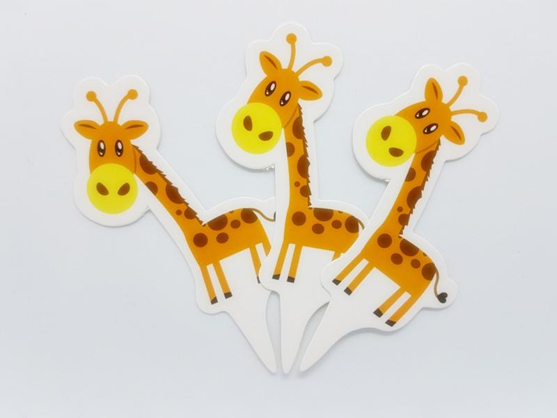 Cupcakeprikker | Giraf