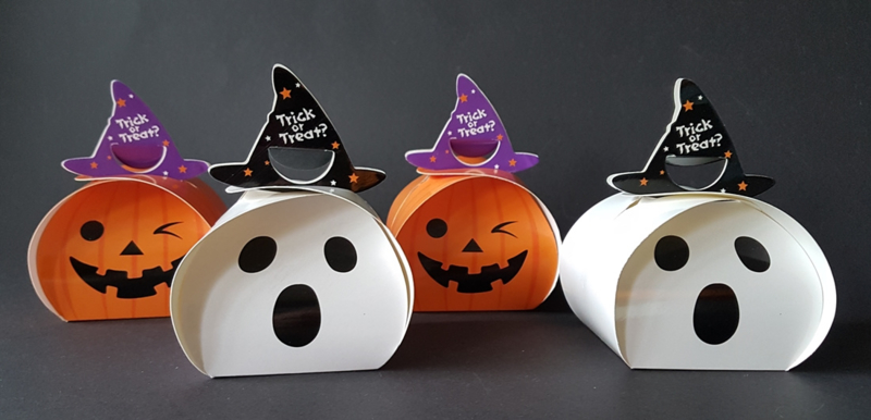 Leuke Halloween Traktaties.Traktatiedoosje Halloween Halloween Zelf Traktaties Maken