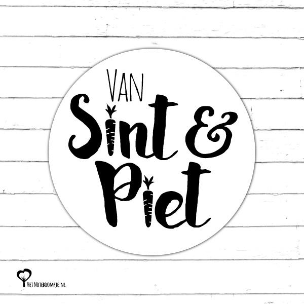 Sticker | Van Sint en Piet