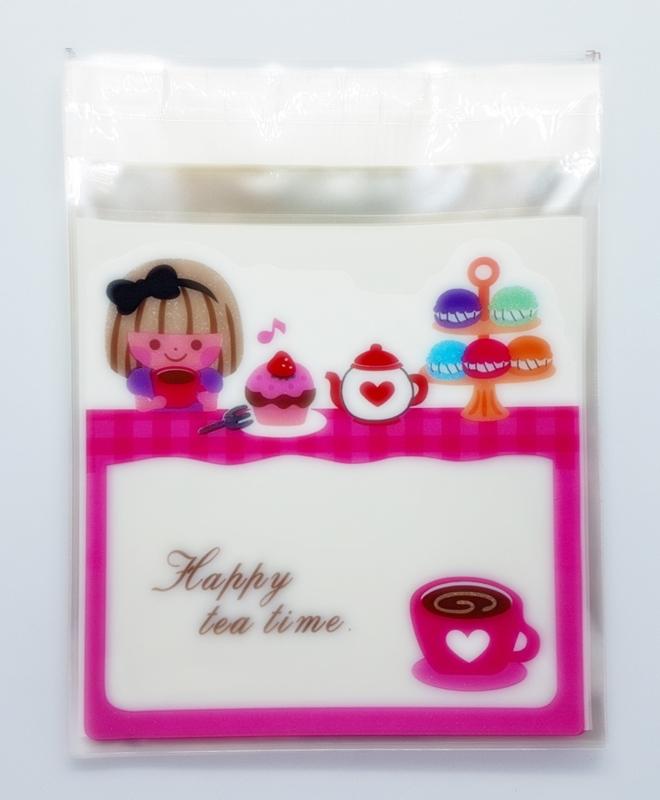 Cellofaanzakje | Happy tea time