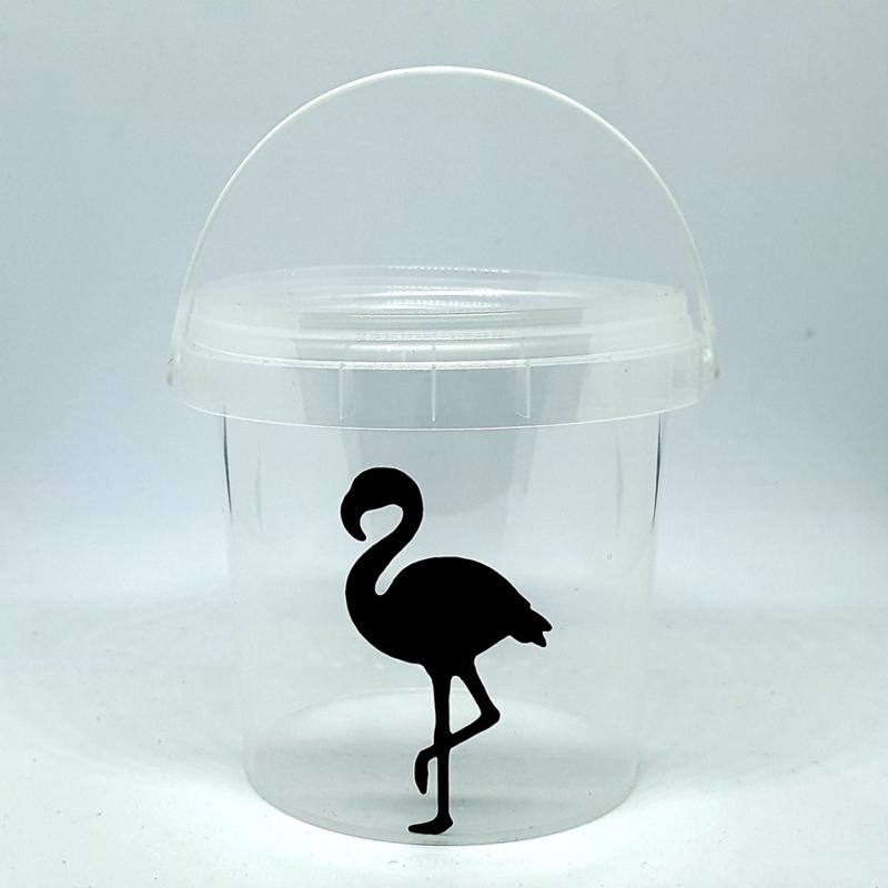 Traktatie emmertje | Flamingo