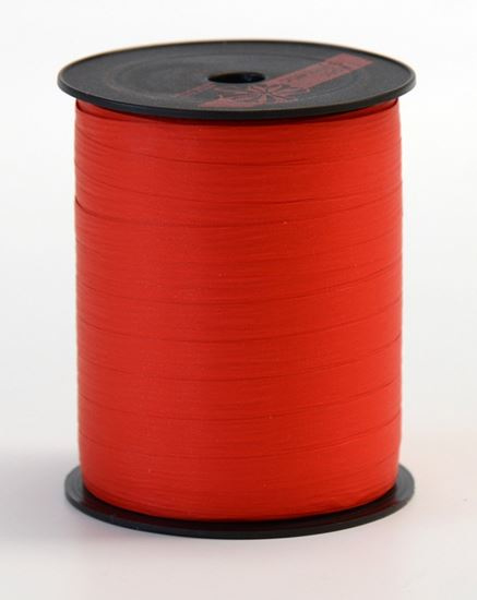 Krullint   Paperlook rood