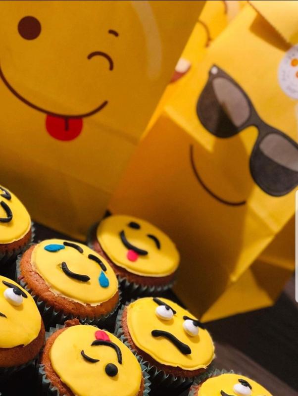 Papieren uitdeelzakken Emoji