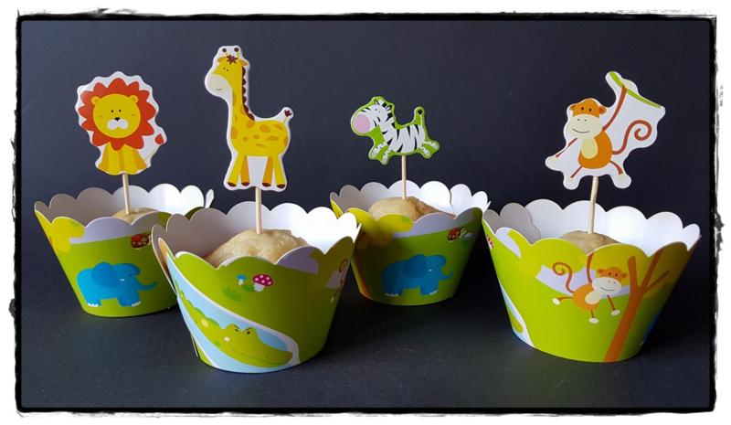 Cupcakewikkel | Jungle