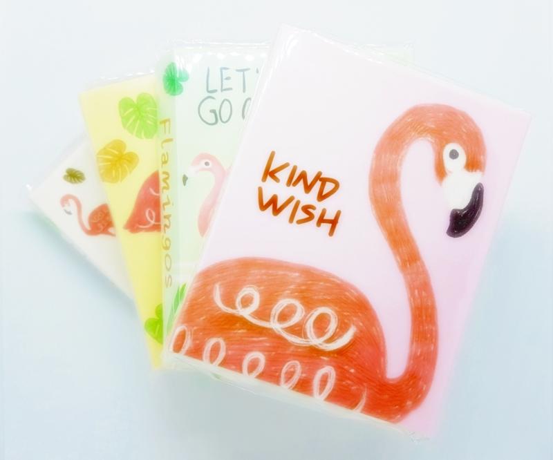 Notitieboekje | Flamingo's
