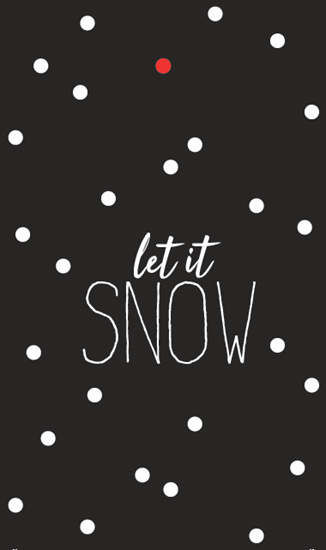 Kadokaartje | Let it snow