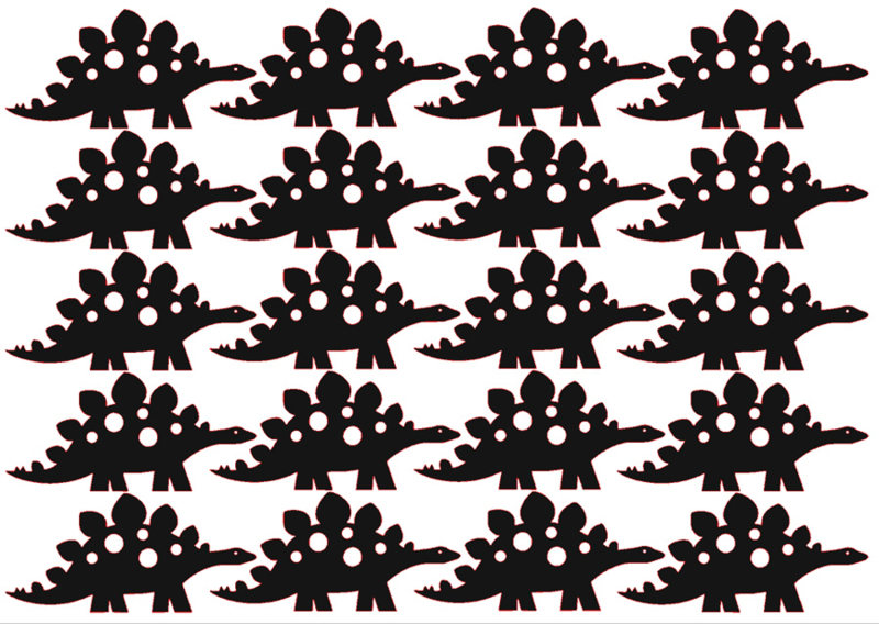 Traktatiestickers | Dino 20 stuks