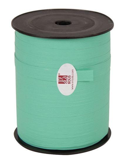 Krullint | Paperlook aqua blauw