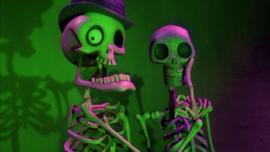 Tim Burton's 13 nights till Halloween Yarn Calendar