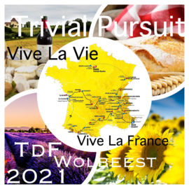 TdF 2021 Trivial Pursuit Vive La Vie - Vive La France