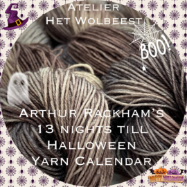 13 nights till Halloween 2020 - Yarn Calendar