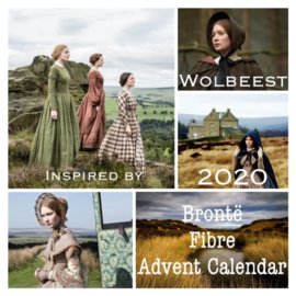 Wolbeest 2020 Brontë Spin Advent Kalender - Wolbeest 2020 Brontë Fiber Advent Calendar