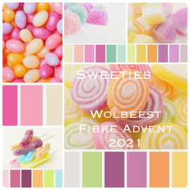 Wolbeest 2021 Advent Spinkalender - Sweeties