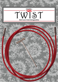 Twist Red Cable 35 cm - mini