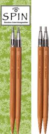"SPIN Bamboe punten 13cm 2.75mm - SPIN Bamboo Tips 5"" US 2"