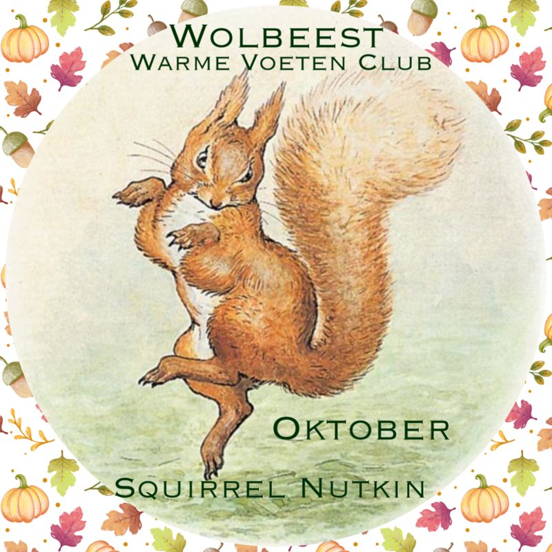 Oktober - Squirrel Nutkin