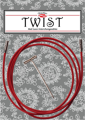 Twist Red Cable 75 cm - mini