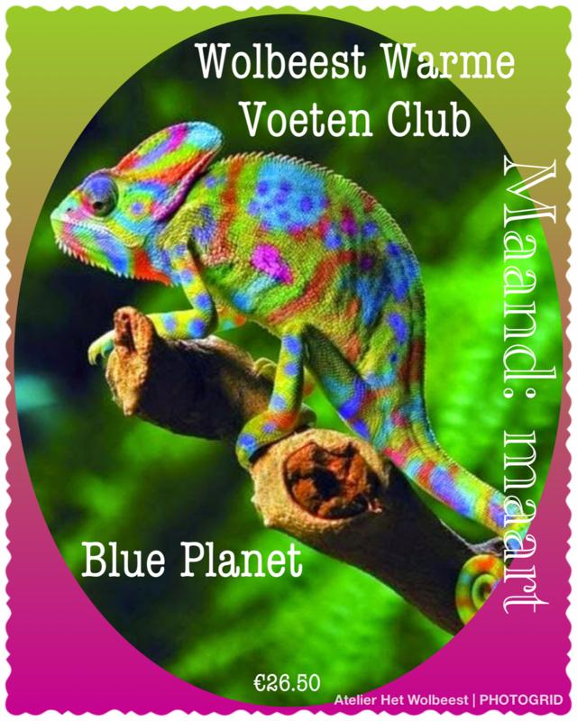 Maand maart - Blue Planet
