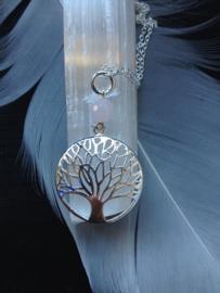 Tree of Life  (925) met Rozenkwarts