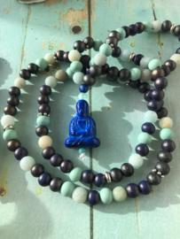 Blauwe Mala met Amazoniet