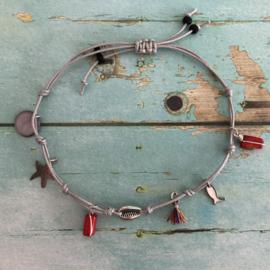 Enkel- of Armbandje Bamboekoraal
