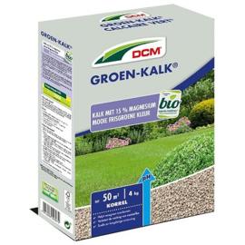 DCM Groen kalk 2kg tot 25m2