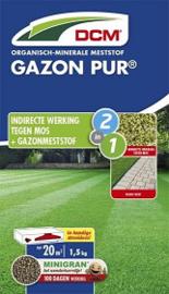 DCM meststof Gazon Pur 1,5 kg tot 20m2