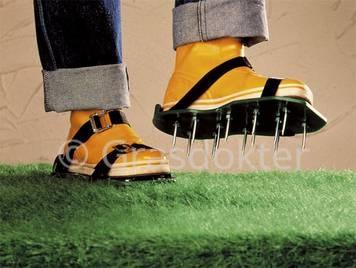 Gazon beluchter schoenen