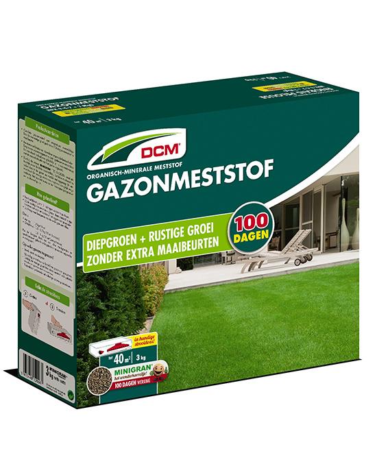 DCM Gazonmest stof 3 kg tot 40m2