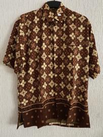 Batik overhemd (XXL)