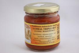 Sambal Triple Hot (Gledek-Bliksems Heet)