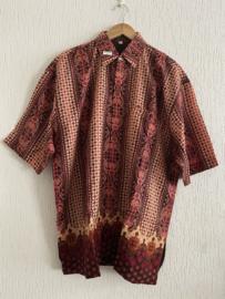 Batik Overhemd ( XXL)