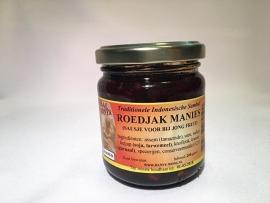 Roedjak Manies ( sausje voor jong fruit)