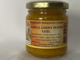 Sambal Ghost Pepper Yellow (X-stra HOT)